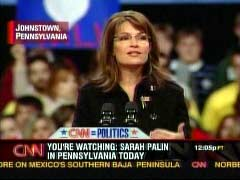 Sarah Palin, Republican Vice Presidential Candidate at Campaign Rally in Johnstown, Pennsylvania | NewsBusters.org