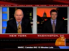 Harry Smith and Jeff Glor, CBS