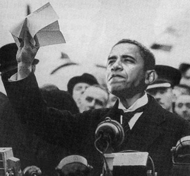 Image result for OBAMA CHAMBERLAIN