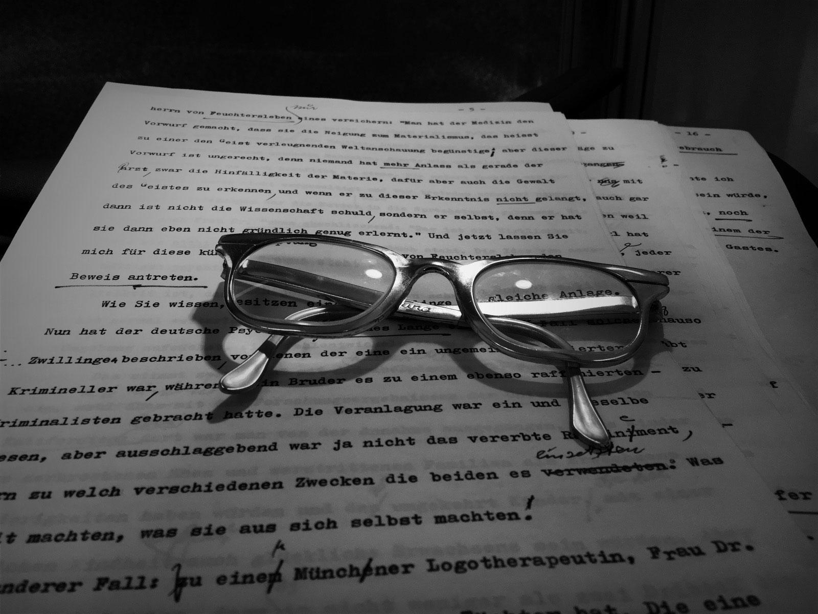 Viktor Frankl's glasses