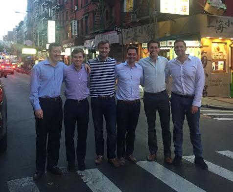 Furman Metropolitan Fellowship team of alumni