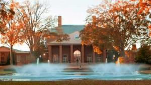 Fall colors at Furman University