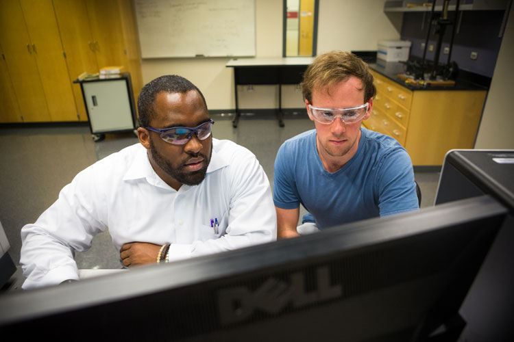 Furman students work closely with professors during their academic careers.