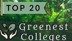 greenest-colleges