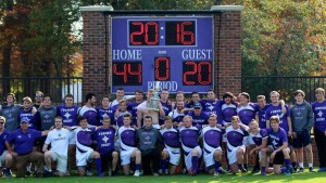 Furman claimed its second SRC Championship Sunday. The team also won the championship in 2014. (photo by Deborah Miller)