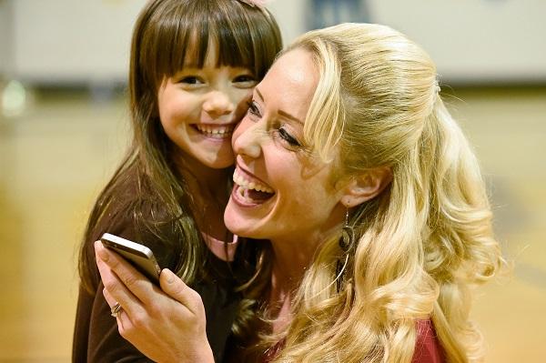 Torres' daughter Sophia is among the K-5 students attending Nursery Road Elementary.
