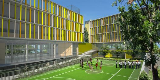 Arquitectura ingenier a y construcci n tercer lugar for Parasoles arquitectura