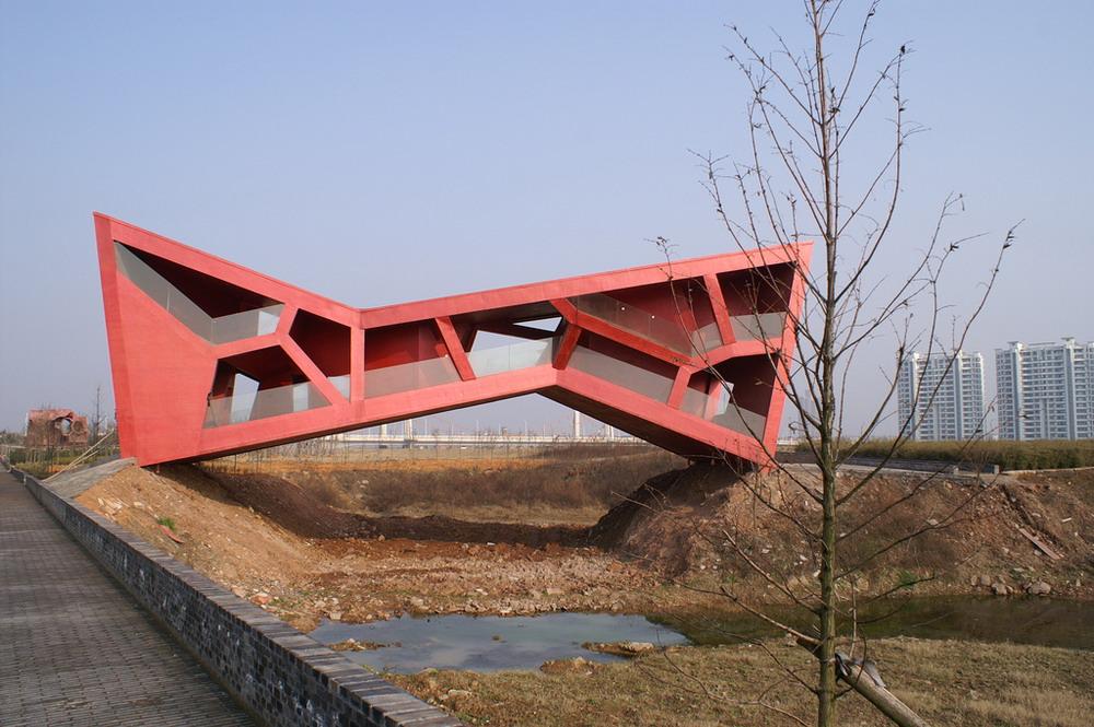 Jinhua China  city images : Parque de Arquitectura, Jinhua, China