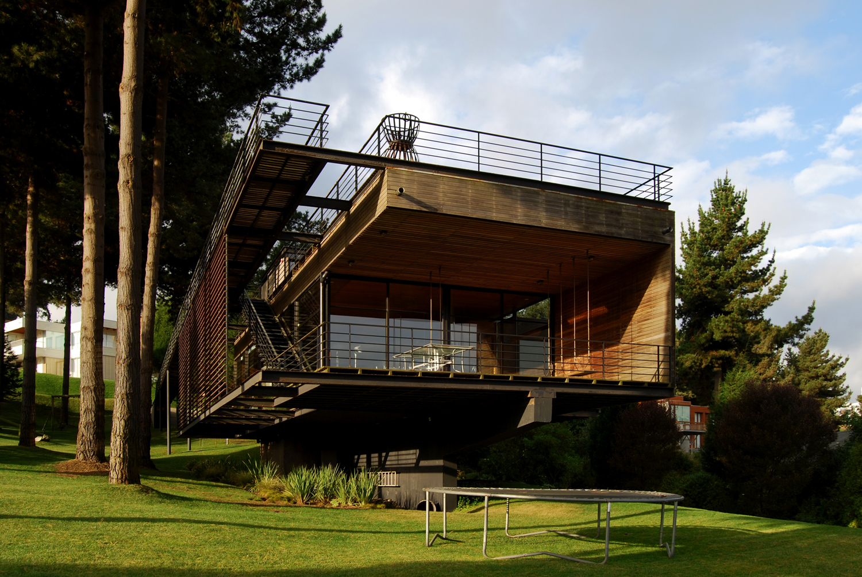 Plataforma en viaje casa reutter mathias klotz for Arquitectura casa