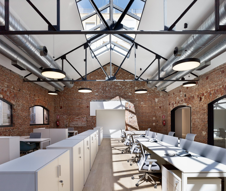 Arquitectura de oficinas plataforma arquitectura for Oficinas ing en madrid
