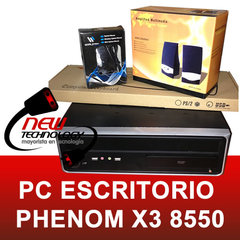 Pc de escritorio Phenom X3 2