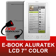 "E-book Aluratek 7"" color AEBK07FS-PVR 2"
