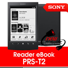 "Ebook 6"" Sony PRS-T2 color negro o rojo 5"