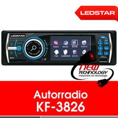 Radio para auto Ledstar KF-3826