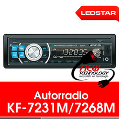 Radio para auto Ledstar KF-7231M/7268M
