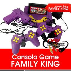 Consola Family King Game+2 joysticks+pistola