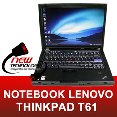 Notebook Lenovo T61 2