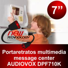 Portaretrato Digital AUDIOVOX DPF710K 1
