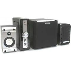 Parlantes Edifier 2.1 C11 30w Amplificador Externo Madera