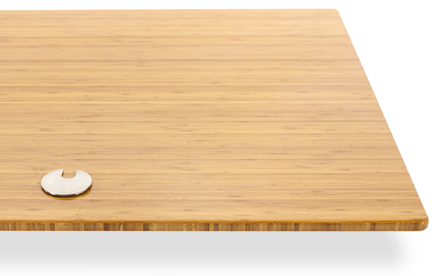 bamboo desktop surface