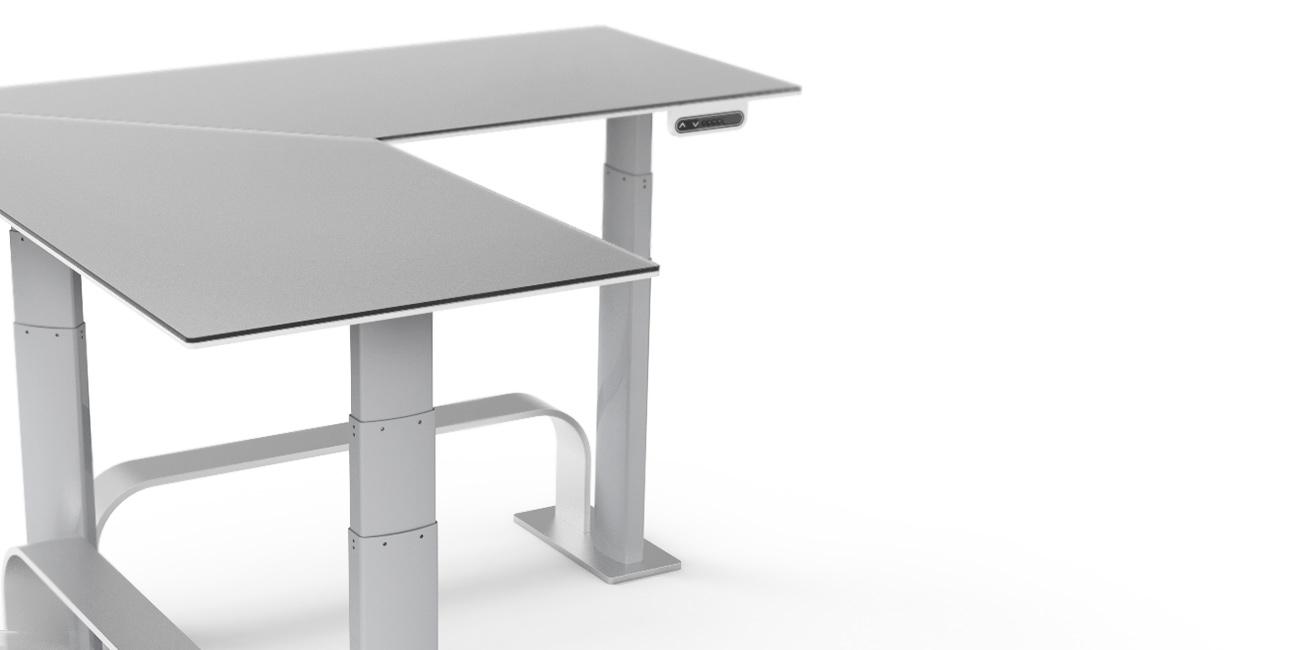 Custom U Shaped Desk NextDesk
