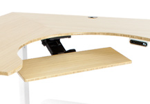 Custom desk design shape