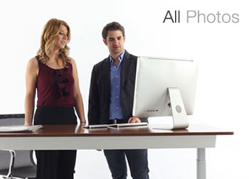 nextdesk adjustable desk photo gallery