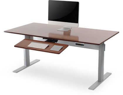 adjustable height desk – power adjustable desks | nextdesk