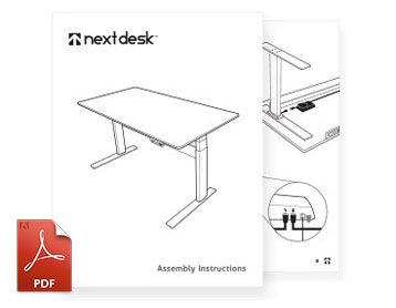 NextDesk Assembly Instructions