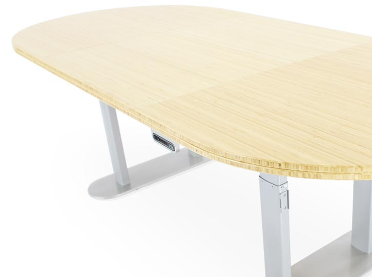 Adjustable Height Conference Table
