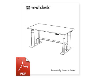 NextDesk Solo Assembly
