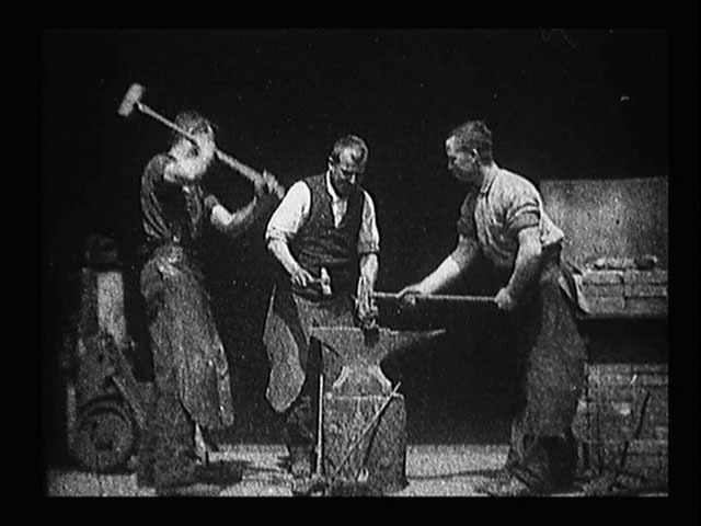 Blacksmithing scene 1893 image normal