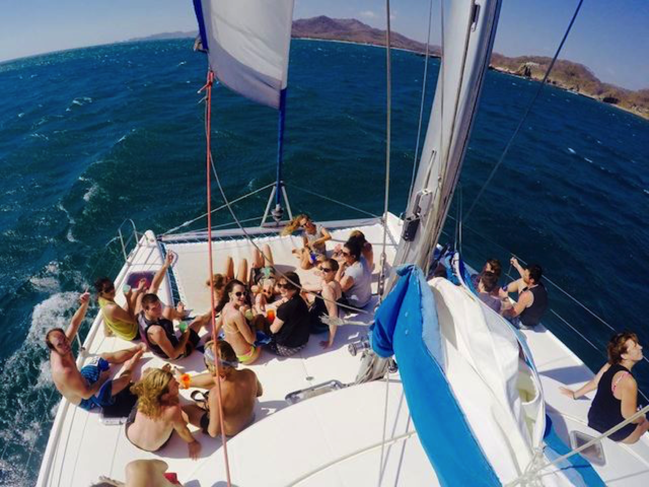 sailboat yoga nicaragua
