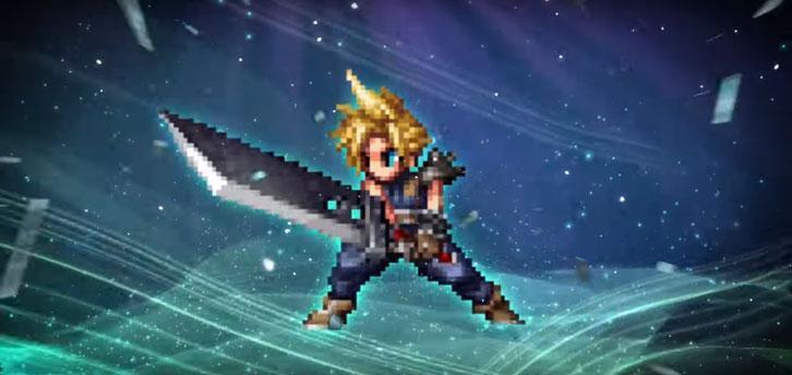 Travel to Midgar with Cloud in Final Fantasy Brave Exvius