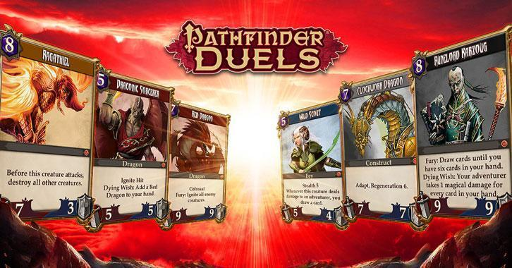 Mobile CCG, Pathfinder Duels Enters Closed Beta