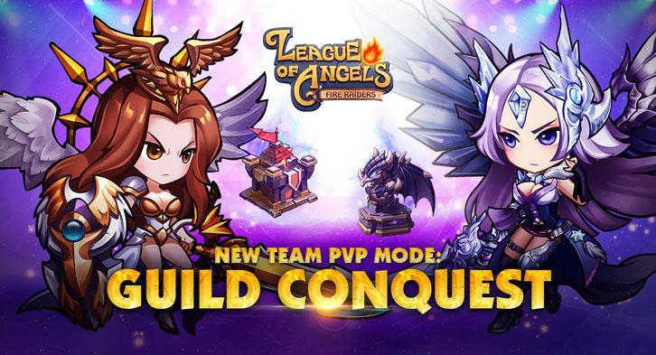 Fight for Glory in the New Cross-Server PvP Mode in League of Angels: Fire Raiders