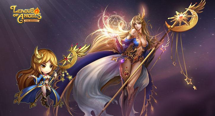 Astrea And The Mystic Warden Join League of Angels: Fire Raiders