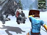 Fighting in Beast Quest