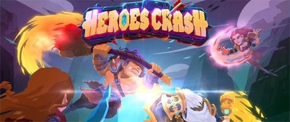 Heroes Crash - Go back in time to recruit heroes and collect magic cards to defeat the Dragon Enchantress in Heroes Crash!