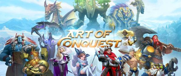 Art of Conquest - Play Art of Conquest and experience a seamless mix of several gaming genres: MMO, RTS, and RPG.