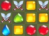 Pet Heroes: Puzzle Adventure taking down foes