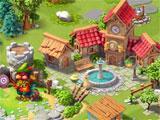Pet Heroes: Puzzle Adventure building the kingdom
