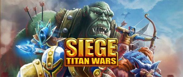 SIEGE: Titan Wars - Defend your castle and destroy the enemy in SIEGE: Titan Wars.
