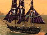 A powerful ship in Assass's Creed Pirates