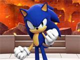 Sonic Forces: Speed Battle main menu