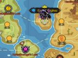 World map in Beasts Evolved: Skirmish