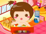 Feeding your virtual baby in Baby Baby
