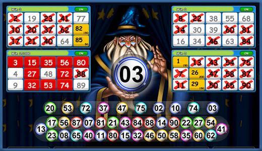 Wizard Bingo: Gameplay