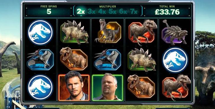 Play Jurassic World at Betway