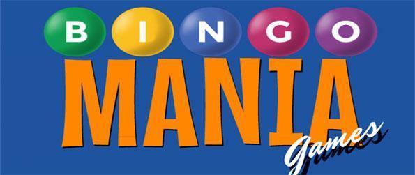 Bingo Mania Games - Enjoy a classic bingo game with up to 9 cards!